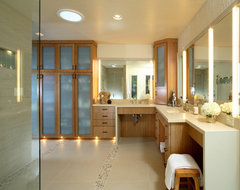 Alhambra Valley Residence contemporary bathroom