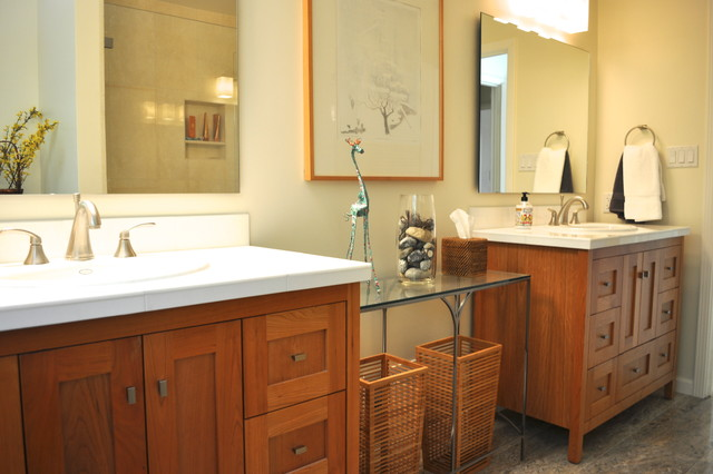 Alki Bathroom Vanity Collection Contemporary Bathroom