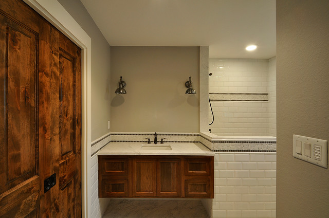 Allandale Custom Home traditional-bathroom