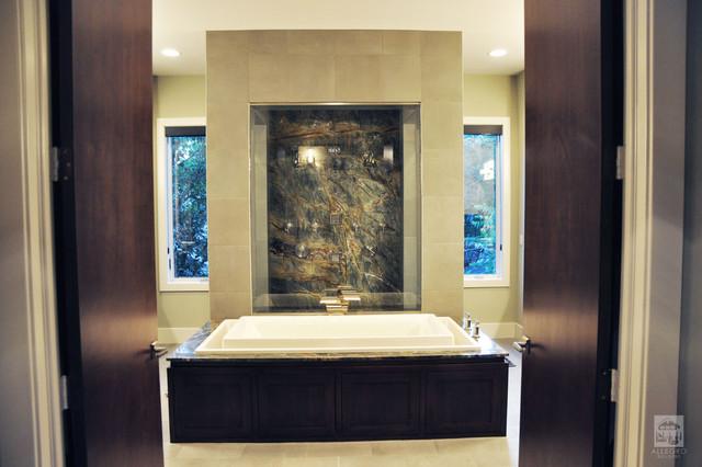 Allegro Builders + Ridge contemporary-bathroom