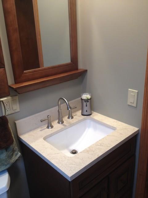 Allen & Roth Ballantyne Bathroom - Ladd - Traditional - Bathroom - Boston - by Lowe's of Wareham, MA