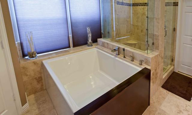 Allen, TX Bathroom With Oversized Tub Modern Bathroom