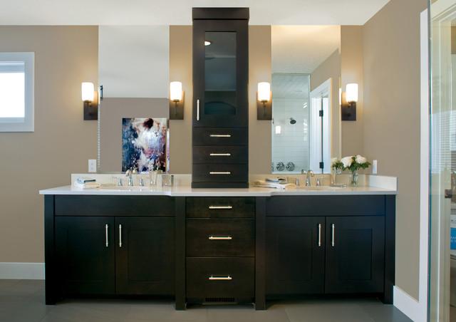 Alluring Sophistication - Contemporary - Bathroom ... - photo#27