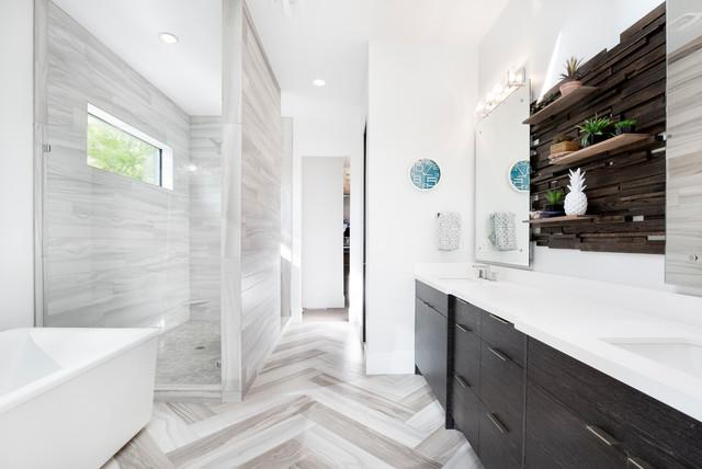 Alpine Estate contemporary-bathroom