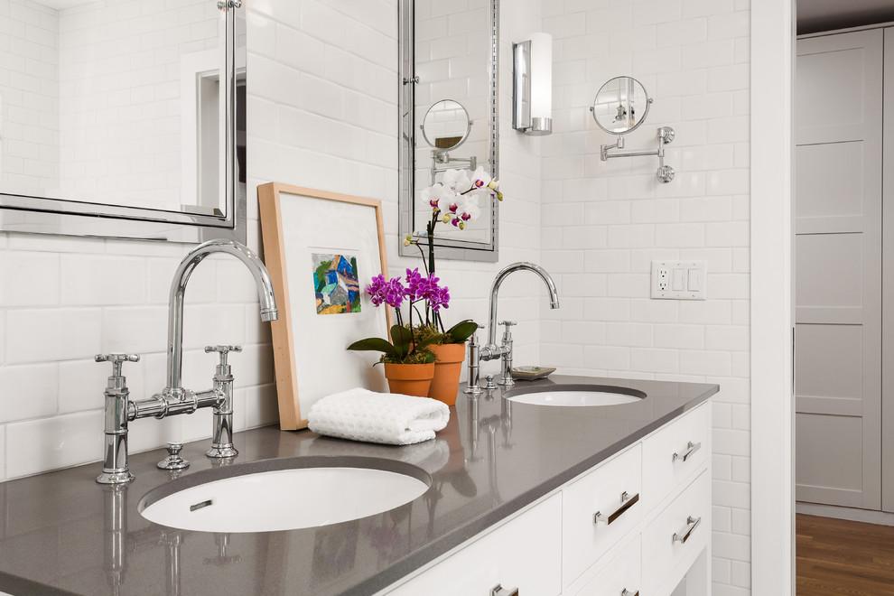 Altadena Bungalow Master Bath Remodel - Contemporary ...
