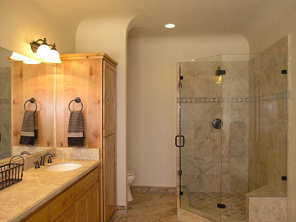 Altair, Nevada City traditional bathroom