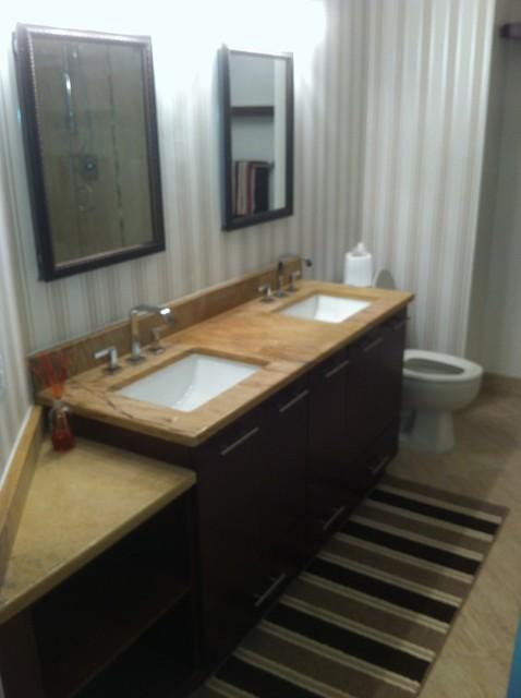 Amazon Design Center bathroom