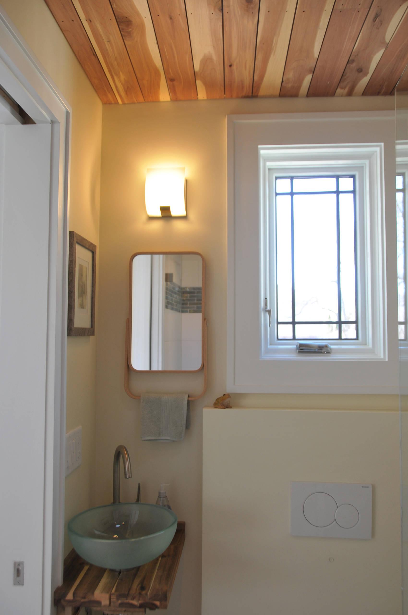 American Four Square Remodel, Shorewood, WI, 1st Floor Bath