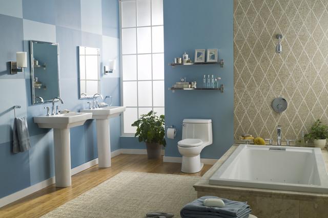 """American Standard """"Blue Room"""" Suite - Modern - Bathroom ..."""