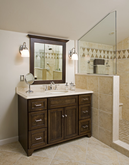 American Traditional Master Bath Remodel: Hatboro, PA traditional-bathroom