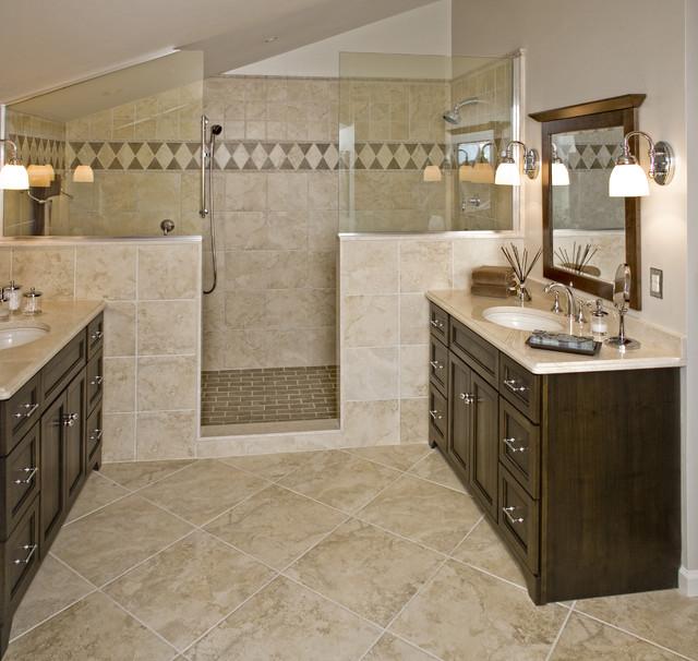 American Traditional Master Bath Remodel Hatboro Pa