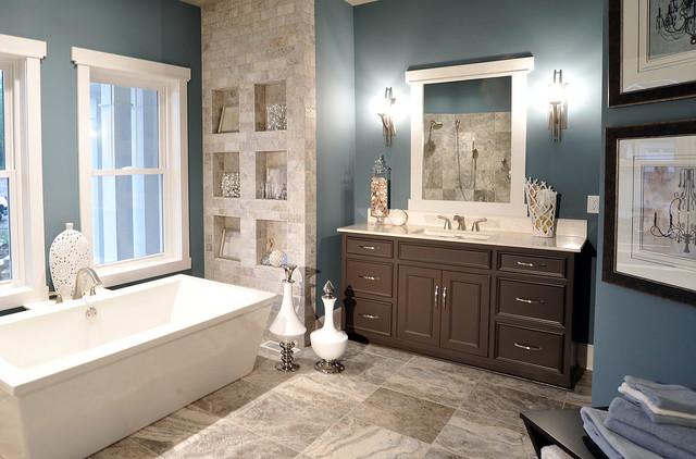 Amish Custom Cabinetry contemporary-bathroom