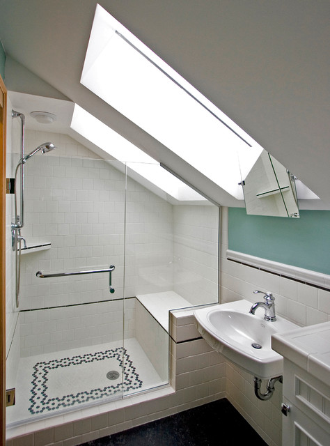 Bathrooms In Attic Spaces 28 Images Attic Bathroom With Bath Shower Space Space Design