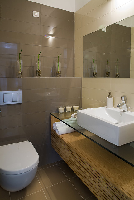 The apartment on eliaho berlin st. modern bathroom