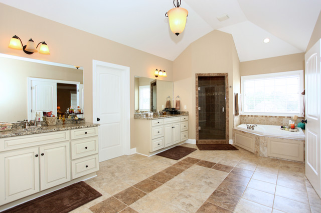An assortment of recent houses I've photographed traditional-bathroom