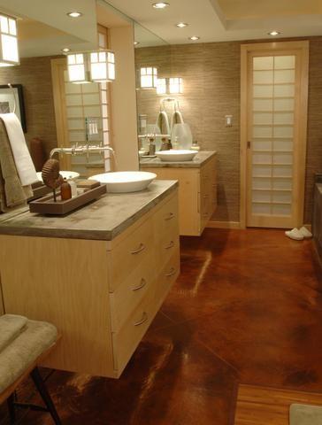 An Award Winning Master Suite Oasis! asian-bathroom