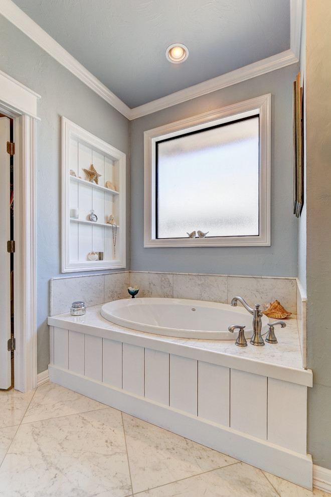 An Edmond Master Bath goes from Frumpy to Fabulous ...