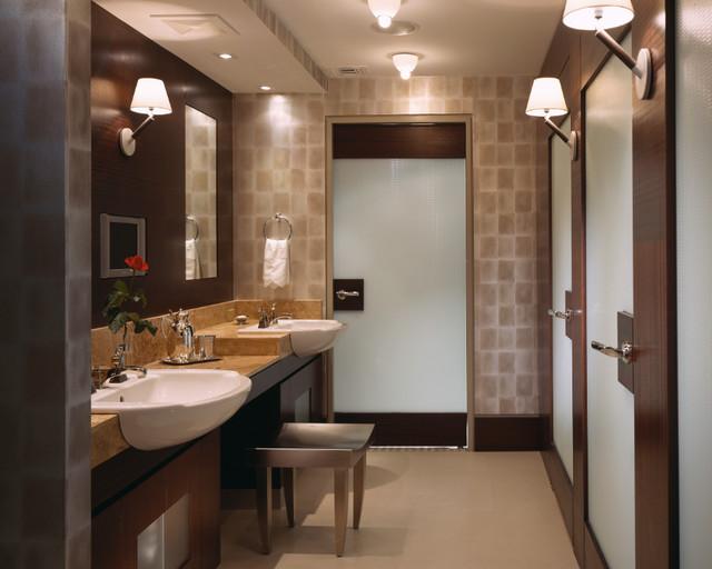An Oceanfront Boca Raton Penthouse contemporary-bathroom