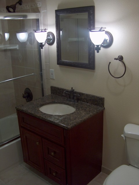 Anaheim Rimless Shower Doors And Tile Coving Traditional Bathroom Orange County By