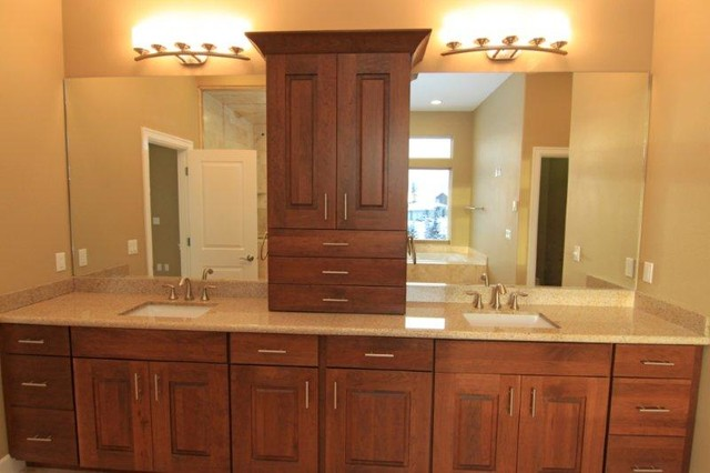 Anchorage alaska traditional bathroom other for Anchorage kitchen cabinets