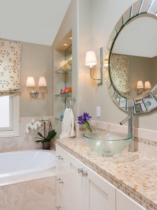 Seafoam green walls bath design ideas pictures remodel for Seafoam green bathroom ideas