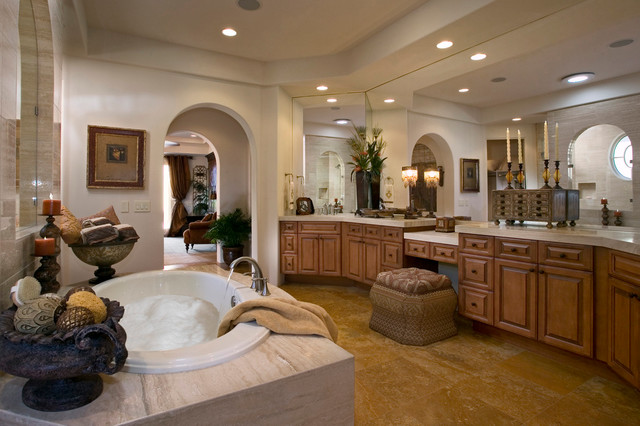 Andalusia at Coral Mountain mediterranean-bathroom
