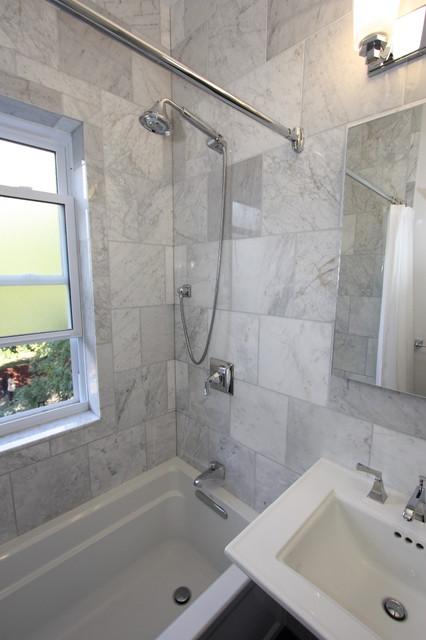 Andersonville Marble Bathroom Eclectic Bathroom Chicago By Design Build 4u Chicago