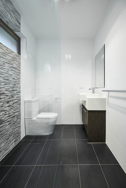 Andrew Lee Kitchen And Bathroom Renovation Project Modern Bathroom Melbourne By Damco