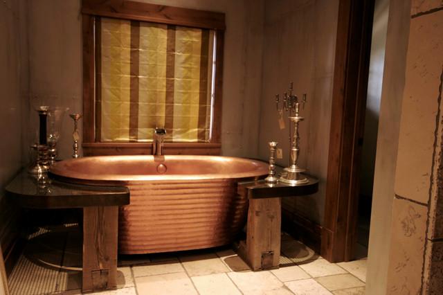 Ann Sacks Copper Tub Surround