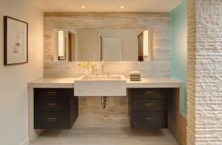 ann sacks marble and limestone bathroom by ann sacks