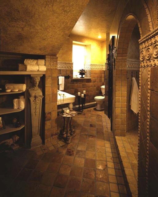 ANN SACKS Terra Cotta bathroom