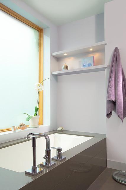 annex project - master bathroom modern-bathroom