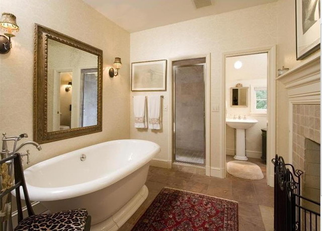 Another Relaxing Tub traditional-bathroom