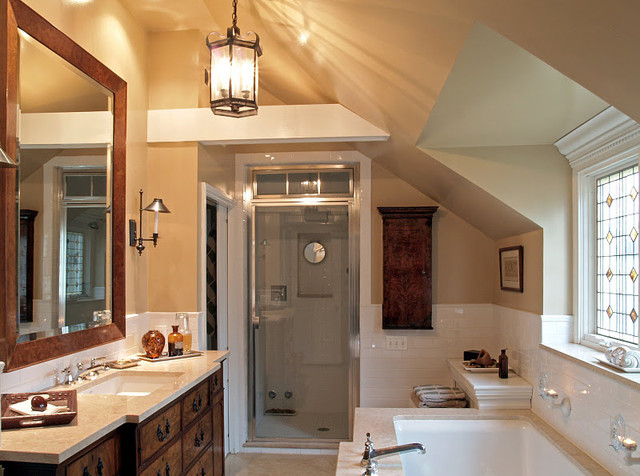 Inspiration for an eclectic bathroom remodel in Philadelphia