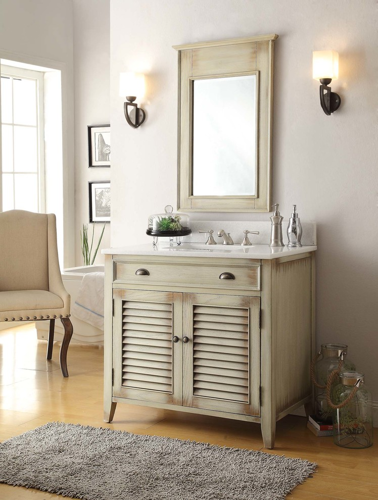 Antique Vintage Wood - Rustic Bathroom Vanities - Rustic ...