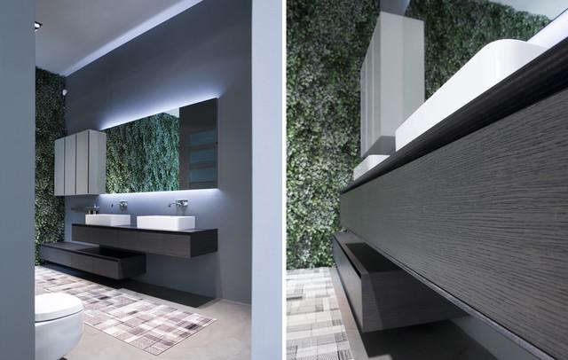Antonio lupi panta rei collection moderno cuarto de for Muebles de cocina alve