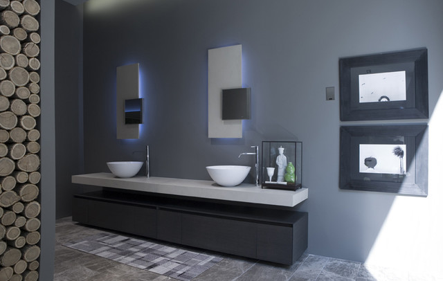 antonio lupi panta rei collection modern bathroom vancouver by ambient bathrooms. Black Bedroom Furniture Sets. Home Design Ideas
