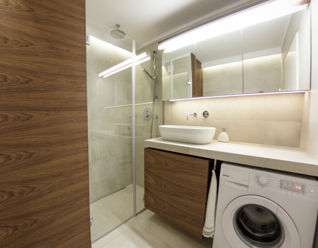 Apartment For Young Kreatif Couple Modern Bathroom Other By Kreatif Design