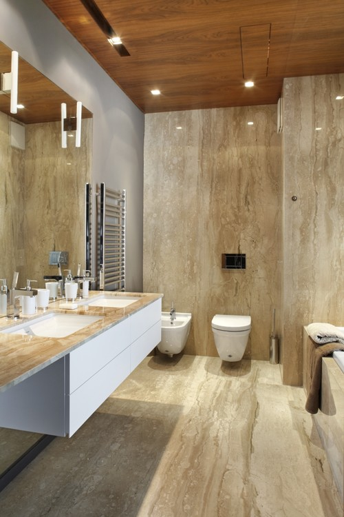 Stone Slab Shower Walls Means No Seams And Easy Clean Up Crocodile Rocks