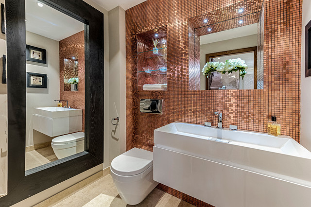 Merveilleux Apartment Refurbishment And Redesign Contemporary Bathroom