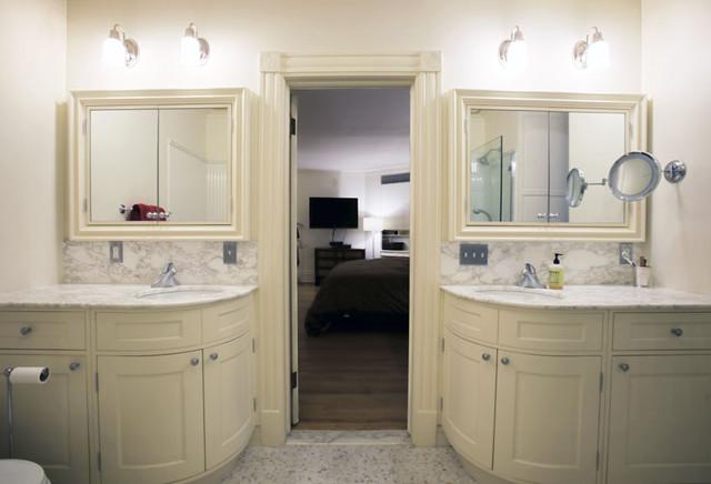 Apartment Renovation traditional-bathroom