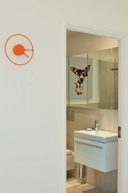 Apartment Renovation In Dublin 6 Contemporary Bathroom Dublin By Houseology