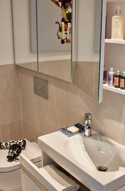 Apartment renovation in dublin 6 contemporary bathroom for Bathroom ideas dublin