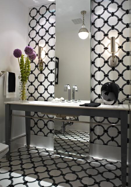 Apogee Condo contemporary-bathroom