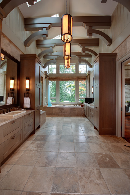 Apple farm modern bathroom