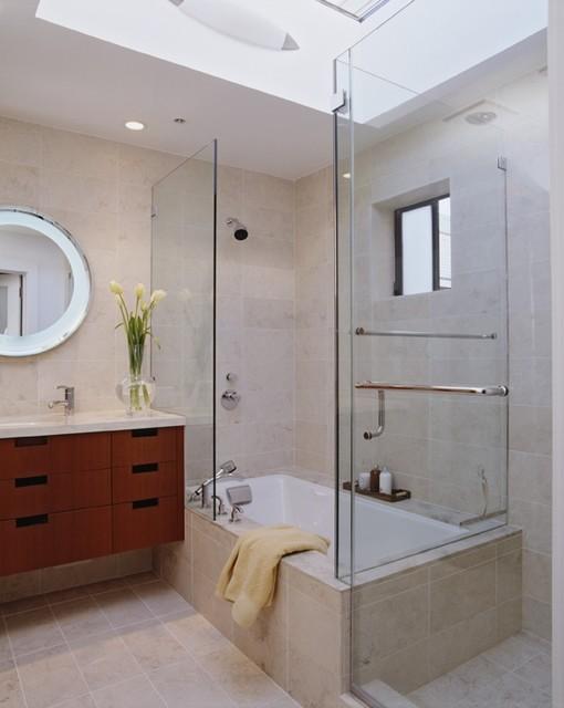 Applegate Tran Interiors contemporary-bathroom