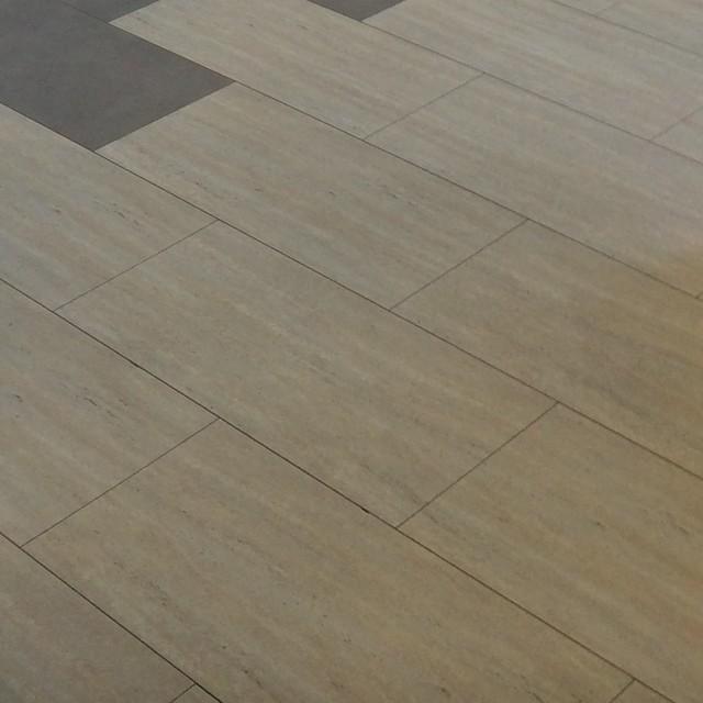 Aqua Step Travertine Cream V4 Ceramic Waterproof Flooring