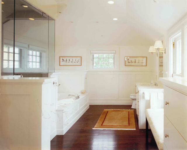 AQUIDNECK ISLAND INTERIOR RENOVATION traditional-bathroom