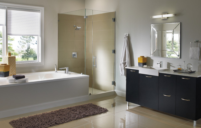 Ara Bath Collection by Delta Contemporary Bathroom Other