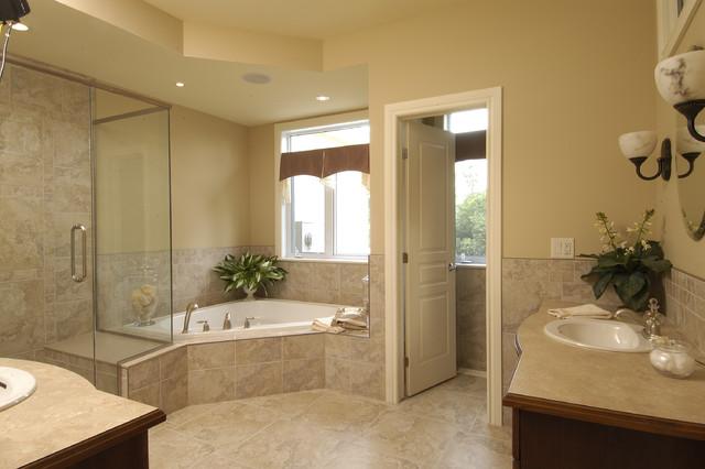 Arbourbrook Estates Model Home Traditional Bathroom